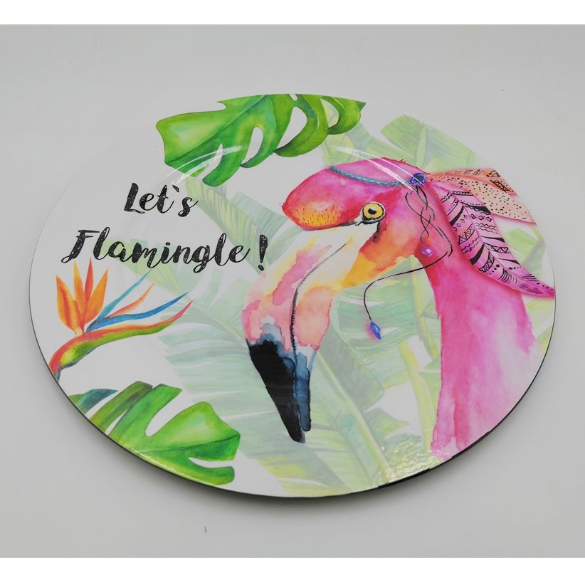Hot Sale Food Level Eco Friendly OEM 100% Melamine Tableware Plate for Restaurant Melamina