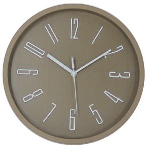Quartz 3D Plastic Wall Clock