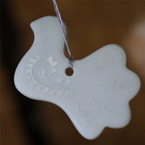 Home Decor Antique White Porcelain Trinket Pendants