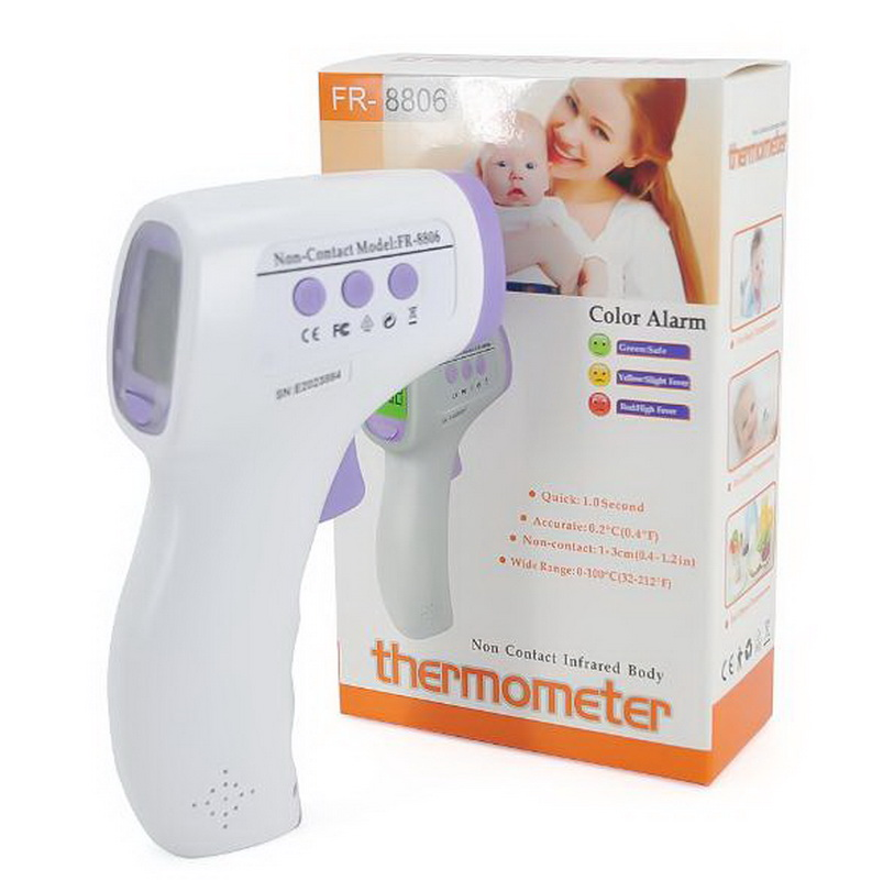 FDA Mercury Free Non Contact Medical Thermometer Digital Forehead Infrared Thermometer