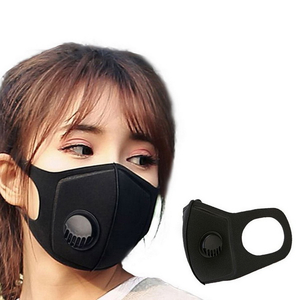 Fashion Cotton Mask with Valve Anti Dust Mask with Filter Custom Face Mask