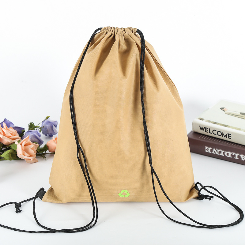 Promotional Cotton Canvas Drawstring Laundry Bag