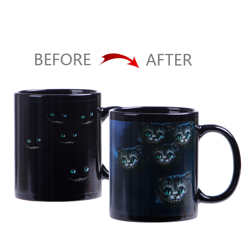 Hot Water Color Change Magic Coffee Sublimation Printable Coated