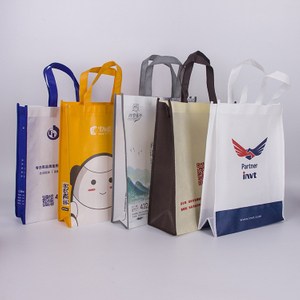 Custom Design Cheap Recycled Foil Laminated Non Woven Bag