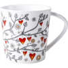 Creative Matt Ceramic Mug with Japanese And Korean Style Love Rattan Mug