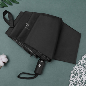Travel Umbrella Auto Open Compact Folding Sun Rain Protection Windproof Portable Umbrella for Kids Women