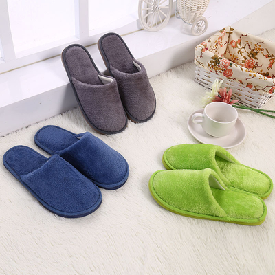 High Quality Comfortable Winter Cotton Memory Foam Washable Anti Slip Indoor Soft Slippers