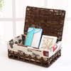wholesale Sea Grass dried seagrass material products woven Laundry Hamper storage Basket