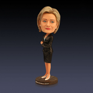Estartek Customized Resin Bobble Head US Hillary Figure