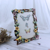 Wedding Pewter with Artifical Pearl Photo Frame