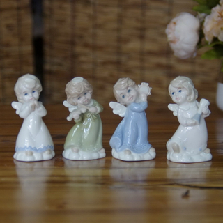 White Porcelain Angel for Home Decoration