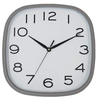 Hanging Convex Glass Digital Wall Clock Battery Operated