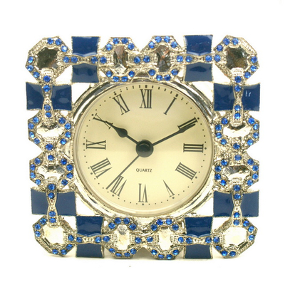 New Fashion Latest Design Jewelry Box with Clock for Sale