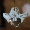 Wholesale Custom Christmas Accessories Ceramic Pendant