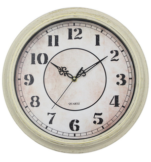 Wood Looks Vintage Quartz Wall Clock