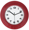 Custom Dial Decorative Kitchen Clocks , Plastic Promotional Modern Wall Clock for Sale