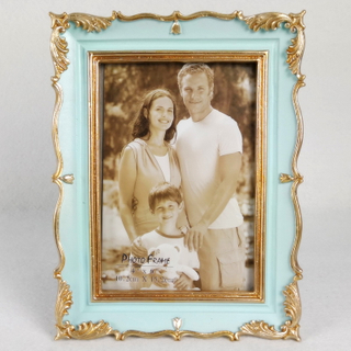 Handmade Polyresin Lovely Small Picture Photo Frame for Kids Gift