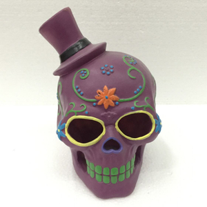 Direct Factory Produce Ceramic Decorative Skull Head