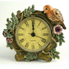 China Factory Direct Sale Plating Home Decor Zinc Alloy Table Clocks