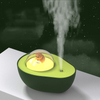 Portable Humidifier USB Wireless Avocado Aroma Diffuser 1200mAh Battery Powered Air Humidificador with Atmosphere Lamp for Home