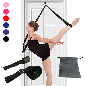 Door Flexibility Stretching Leg Stretcher Strap for Ballet Cheer Dance Gymnastics Trainer Yoga Flexibility Leg Stretch Belt