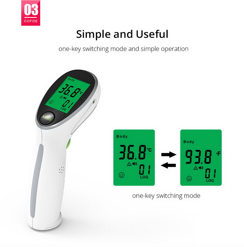 Check for Fever Baby Adult Medical Non Contact Digital Infrared Thermometer