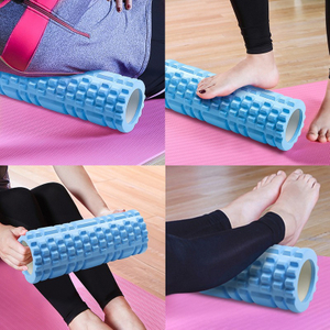 Yoga Column Gym Fitness Foam Roller Pilates Yoga Exercise Back Muscle Massage Roller Soft Yoga Block Muscle roller Drop Shipping