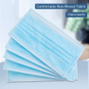 Wholesale Blue Surgical Medical Procedure 3 Ply Earloop Disposable Face Mask