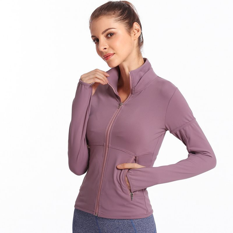 Yoga Wear Tops Running Long Sleeve Yoga Wear Jackets