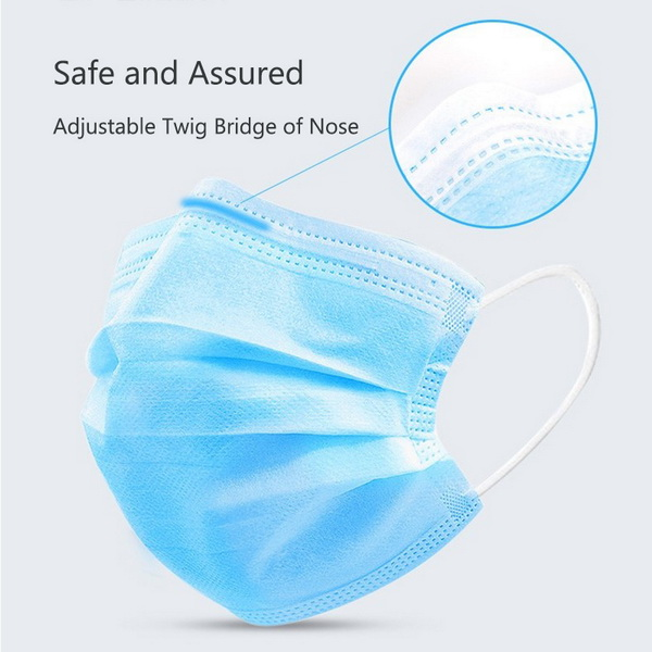 Medical Protection Face Shield Mask Disposable Surgical Face Mask with Eye Shield