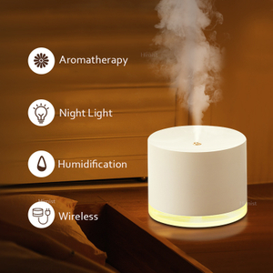 780ml Wireless Air Humidifier 2000mAh Battery Rechargeable Humidificador Fogger Portable Water Diffuser Air Purifier Mist Maker