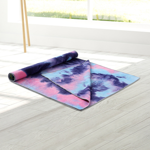 Tie-Dye Print Yoga Pilates Mat Towel Soft Blanket Fitness Exercise Pad Cover Multi-function Equipment for Exercise