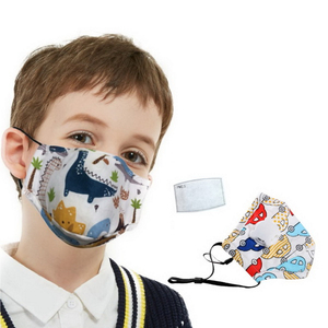 Hot Selling Cotton Face Mask Pm2.5 Filter For Wholesales Filter Anti Haze Kids