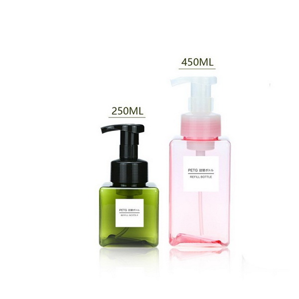 Amazon Hot Sale Customizable Screen Printing Boston Glass Soap Dispenser Bottle