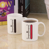 Promotional Gift Color Changing Mug, Porcelain Magic Sublimation Mug