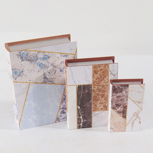 Wholesale Wonderful Wooden Book Shape Box Canvas