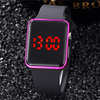 Men LED Digital Sports Watches Men's Rubber Strap Male Military Wristwatch Clock