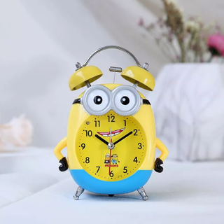Spot Supply Snooze Nightlight Table Sound Digital Alarm Clock Made in China with Wooden Plastic And Stainless Steel Materials