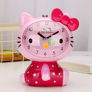Custom CUTE Mini ABS Digital Twin Bell Alarm Clock for Kids