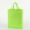Printed Organic Washable Grocery Value Reusable PP Gift Foldable Non-Woven Tote Shopping Bag