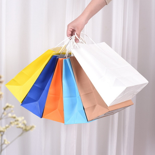 Manufacturer Customized Private Label Paper Bags Brand Name Paper Bags