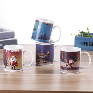 Magical Color Changing Color Mug/Coffee Tea Milk Hot Cold Heat Sensitive Color-changing Mug Cup