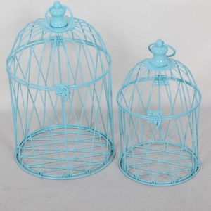 New Products White Wedding Decorative Metal Garden Bird Cage