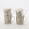 Ceramic Mug Milk Coffee Mug with Trend Office Home Water Cup Simple Version