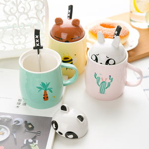 Wholesale Ceramic Coffee Cup Ceramic Mug With Spoon