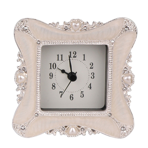 Home Decoration Wholesale Price Promotion Pewter Art Clock