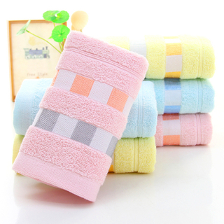 100% High Quality Cotton Quick-Dry Custom Design Kids Face Towel, Luxury Home And Hotel Use Turkish Towel