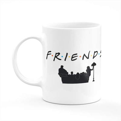 Friends Coffee Tea Mug Gift Printing Sublimation Mug