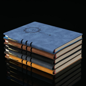 Good Quality PU Leather Custom Elegant Notebook