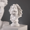 Personalized Custom Made Resin Greece God Head Bust Antique Decoration